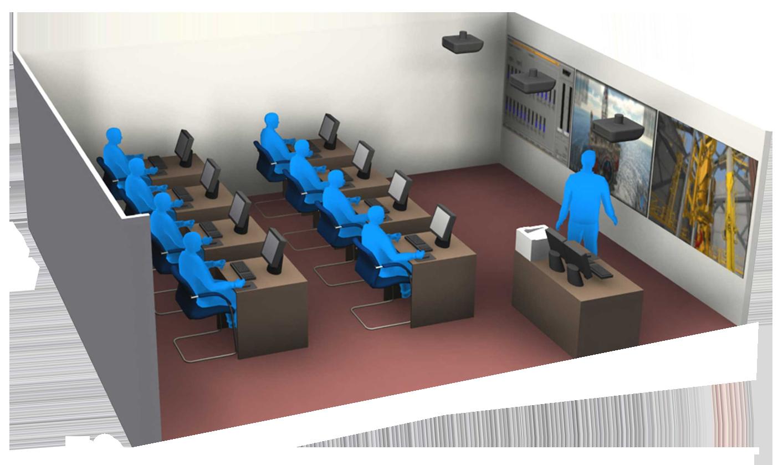 DrillSIM:Educator 3D Digital Render
